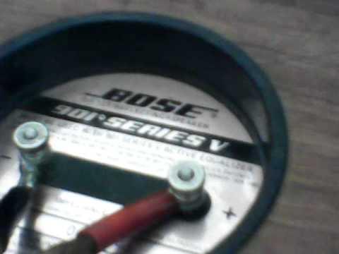 bose 901 series v manual