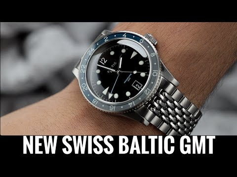 New Swiss Baltic GMT Aquascaphe | Hands on EXCLUSIVE Pre release look