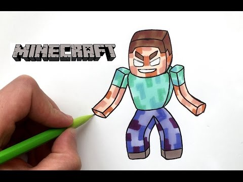 Dessin Herobrine Minecraft Youtube