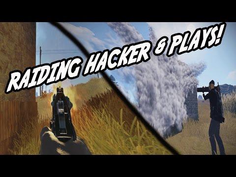 Hacker Raid & MAKING PLAYS! (Rust)