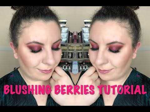 BLUSHING BERRIES EYE MAKEUP TUTORIAL & GIVEAWAY! | Breakups2Makeup (OPEN)
