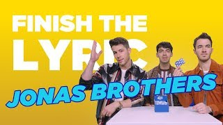 Finish The Lyric: Jonas Brothers | Capital