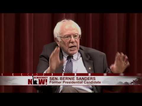 BERNIE SANDERS - THE DEMOCRACY NOW! INTERVIEW