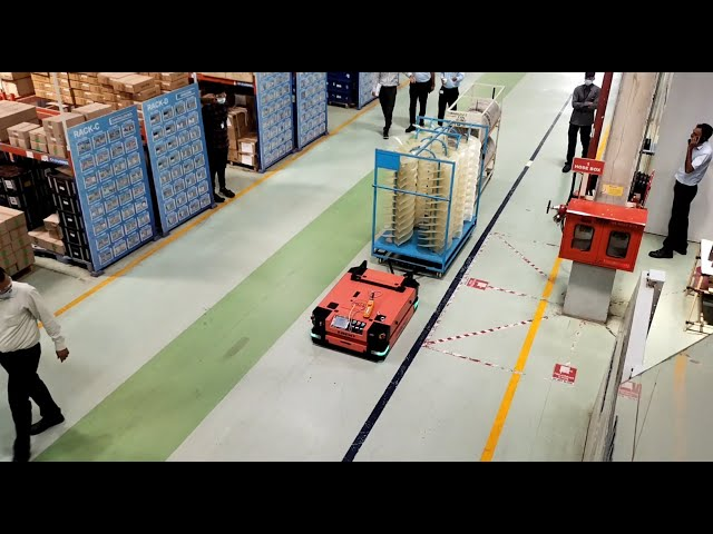 SIRIUS Autonomous Mobile Robots - Unmanned Material Movement With Flexible Path Navigation #nidobots