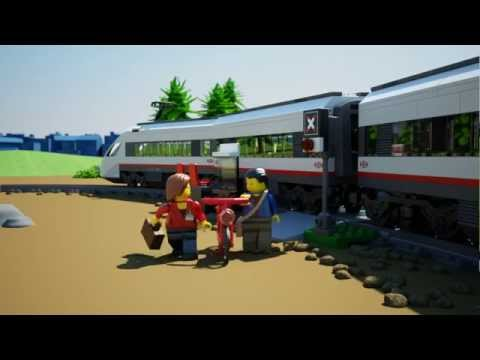 High-speed Passenger Train - LEGO City - 60051