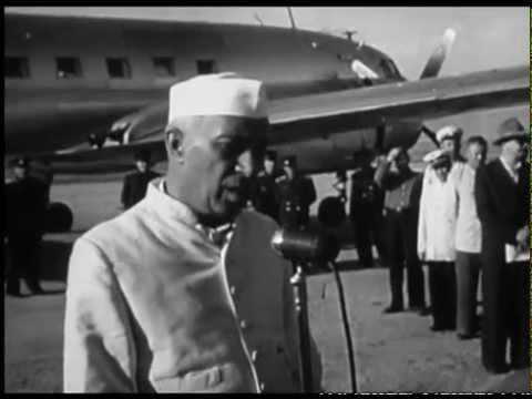 JAWAHARLAL NEHRU & INDIRA GANDHI in GEORGIA-1955