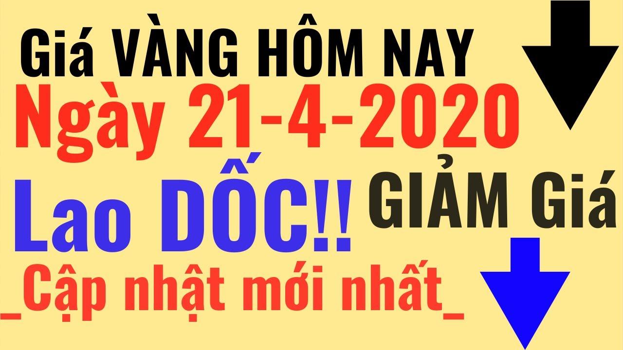 Giá VÀNG Hôm Nay 21/4 LAO DỐC GIẢM. Bảo Tín Minh Châu SJC Ý Mi Hồng 9999 24k PNJ online trực tuyến