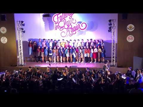 Charity Concert Falling in love again MED CMU Chorus & SPCO Bohemian Rhapsody'