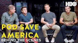 BTS w/ Jon Lovett, Jon Favreau, Tommy Vietor & Dan Pfeiffer | Pod Save America
