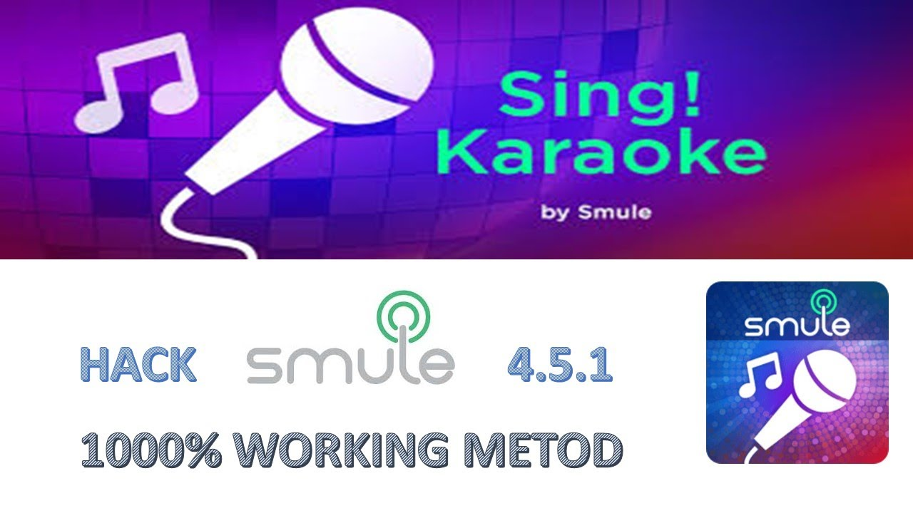 How To Hack Latest Version Smule Sing 4 5 1 | Get Vip Access in Smule |  july 2017
