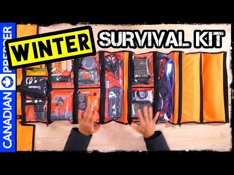 NEW! Winter Vehicle Survival/ Emergency Kit