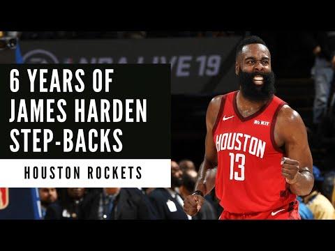 James Harden | Over 90 Minutes of Harden Step-Backs | Houston Rockets