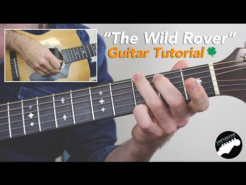 The Wild Rover Guitar Lesson  Easy Irish Guitar Songs