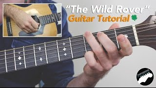 "Video ""The Wild Rover"" Guitar Lesson - Easy Irish Guitar Songs download MP3, 3GP, MP4, WEBM, AVI, FLV Juli 2018"