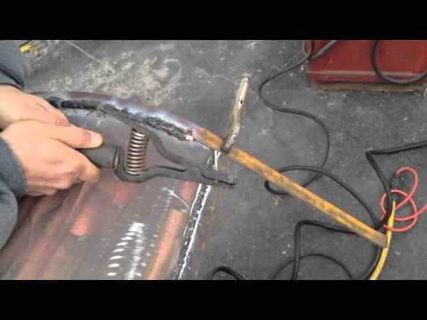 How To Weld Bbq Smoker Youtube