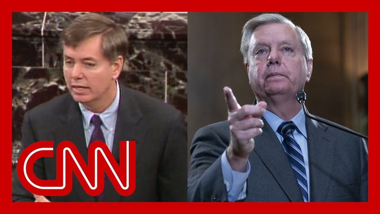 Democrats play 1999 video of Lindsey Graham talking about ...