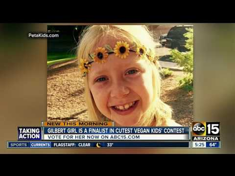 Gilbert girl finalist in vegan kids' contest