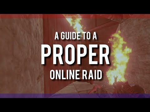 RUSTㆍHow to PROPERLY ONLINE RAID Someone