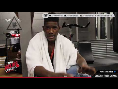 """Erickson Lubin """"I Know Jermall Charlo is Bigger Than Me But You Just Have to Chop Down The Tree"""""""