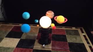 3d solar system model grade 5