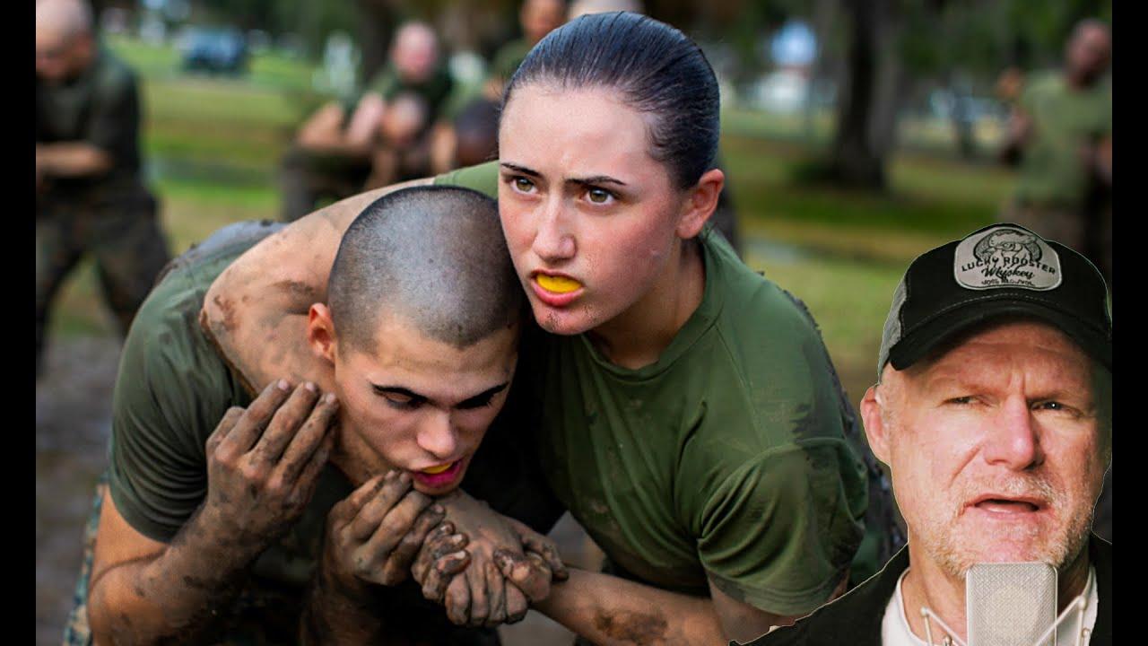 Download USMC Social Experiment:Gender Integrated Combat Training - Crucible (Marine Reacts)