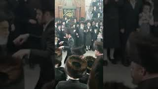 Viznitz yerushalayim And viznitz Boro park Rebbes Dancing - Adar II 5779