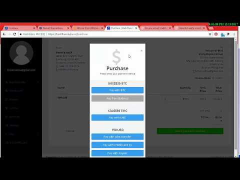 HashFlare Tagalog   How To Buy Using PH Credit Card