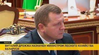 Министром лесного хозяйства назначен Виталий Дрожжа