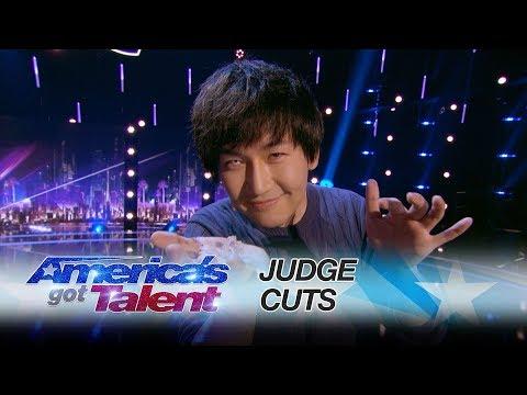 Visualist Will Tsai: Magician Makes Pet Fish Reappear - America's Got Talent 2017