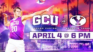 GCU Men's Volleyball vs. BYU April 4, 2019