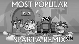 [Sparta Remix] Unikitty, Puppycorn, Hawkodile & Dr. Fox crying has a Sparta Remix