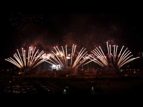 Calgary Stampede  Fireworks 2016