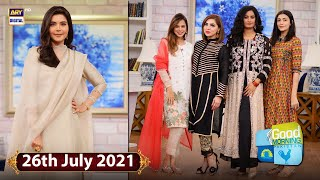Good Morning Pakistan - Celebrities With Their Eid Wardrobe & Memories - 26th July 2021- ARY Digital