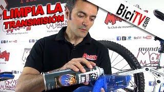 Cómo limpiar la transmisión de la bicicleta. Mantenimiento