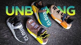 NMD по цене Yeezy?! Распаковка Pharrell x adidas Human Race NMD TR