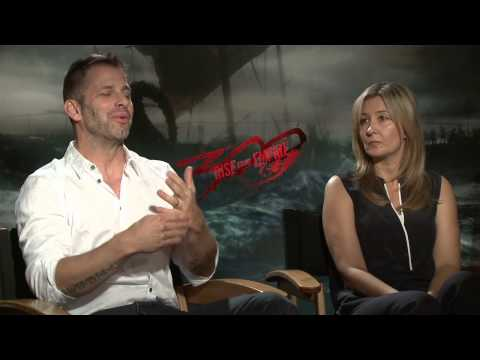 300: Rise of an Empire: Zack Snyder & Deborah Snyder Official Movie Interview Part 2 of 2