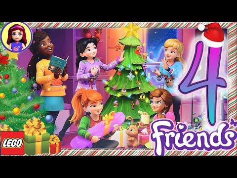 Day 4 Build your Christmas Tree Decorations - Lego Friends Advent Calendar 2018