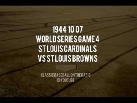 1944 10 07 St Louis Browns vs St Louis Cardinals WS Game 4