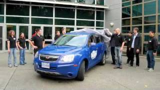 UVic EcoCAR Unveiling Event