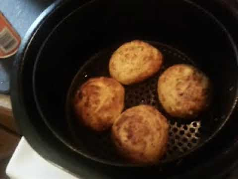 How long to cook fresh crab cakes in air fryer