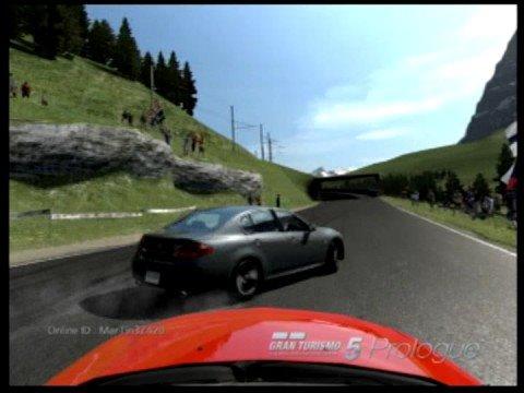 GT5 Best Drift Run Skyline 350GT