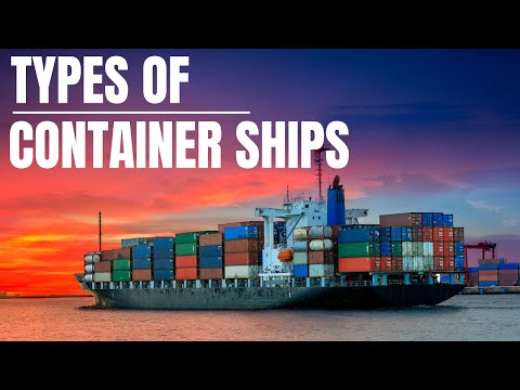 Types Of Container Ships #containership #ship