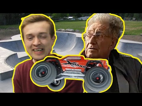 LOL GRUMPY old man VS Traxxas X-Maxx