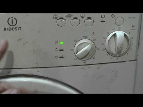 Ремонт стиральной машины индезит своими руками wiun 102