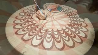 More mandalas, more fun! Satisfying speed painting moments