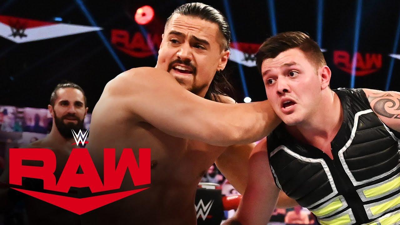 Download Mysterio & Carrillo vs. Rollins & Murphy vs. Andrade & Garza: Raw, Sept. 21, 2020