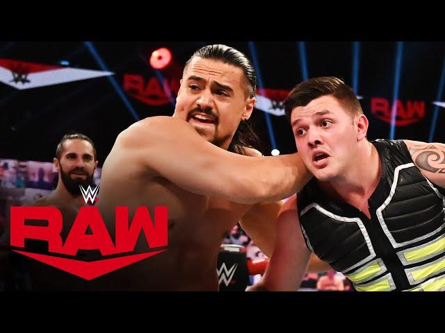 Mysterio & Carrillo vs. Rollins & Murphy vs. Andrade & Garza: Raw, Sept. 21, 2020