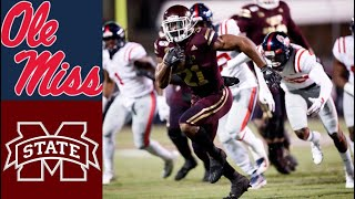Ole Miss vs Mississippi State Highlights | NCAAF Week 14 | College Football Highlights