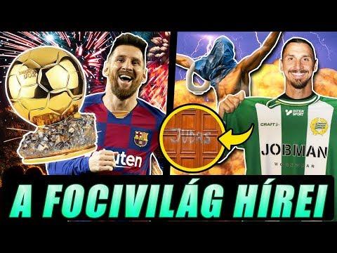 Messi kapja az Aranylabdát?  Botrány: megrongálták Ibrahimovic szobrát!
