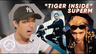 "Performer Reacts to SuperM ""Tiger Inside"" MV"